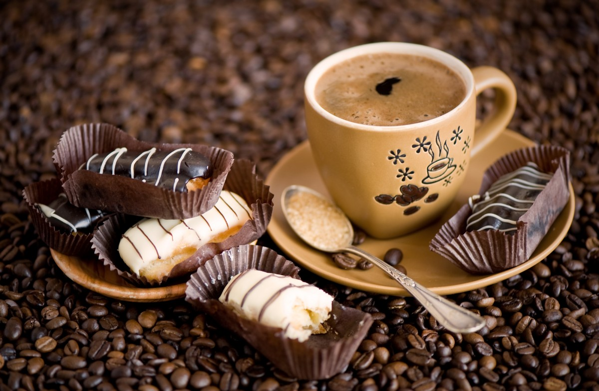 Jigsaw Puzzle Solve jigsaw puzzles online - Coffee with chocolates