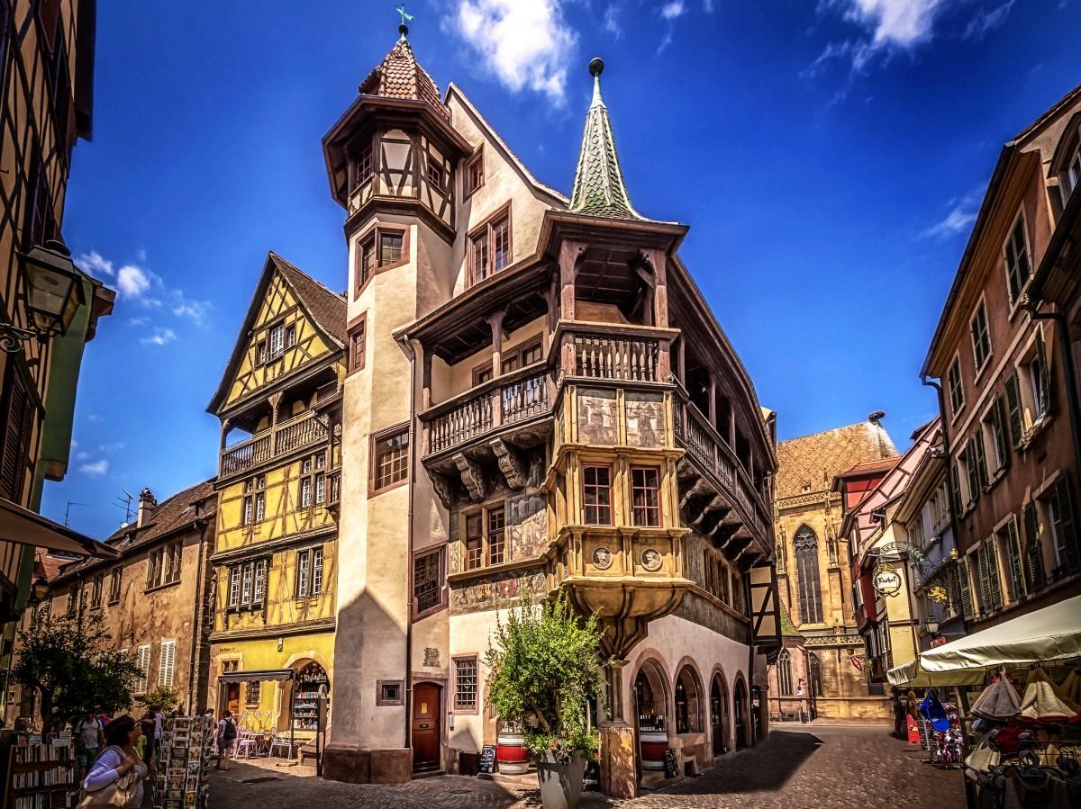 Jigsaw Puzzle Solve jigsaw puzzles online - Colmar, France