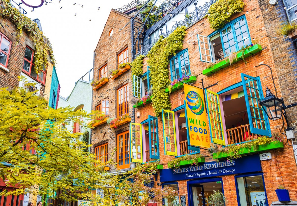 Jigsaw Puzzle Solve jigsaw puzzles online - Covent Garden London