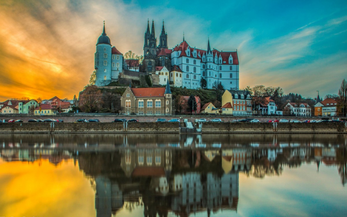 Jigsaw Puzzle Solve jigsaw puzzles online - Fortress Albrechtsburg