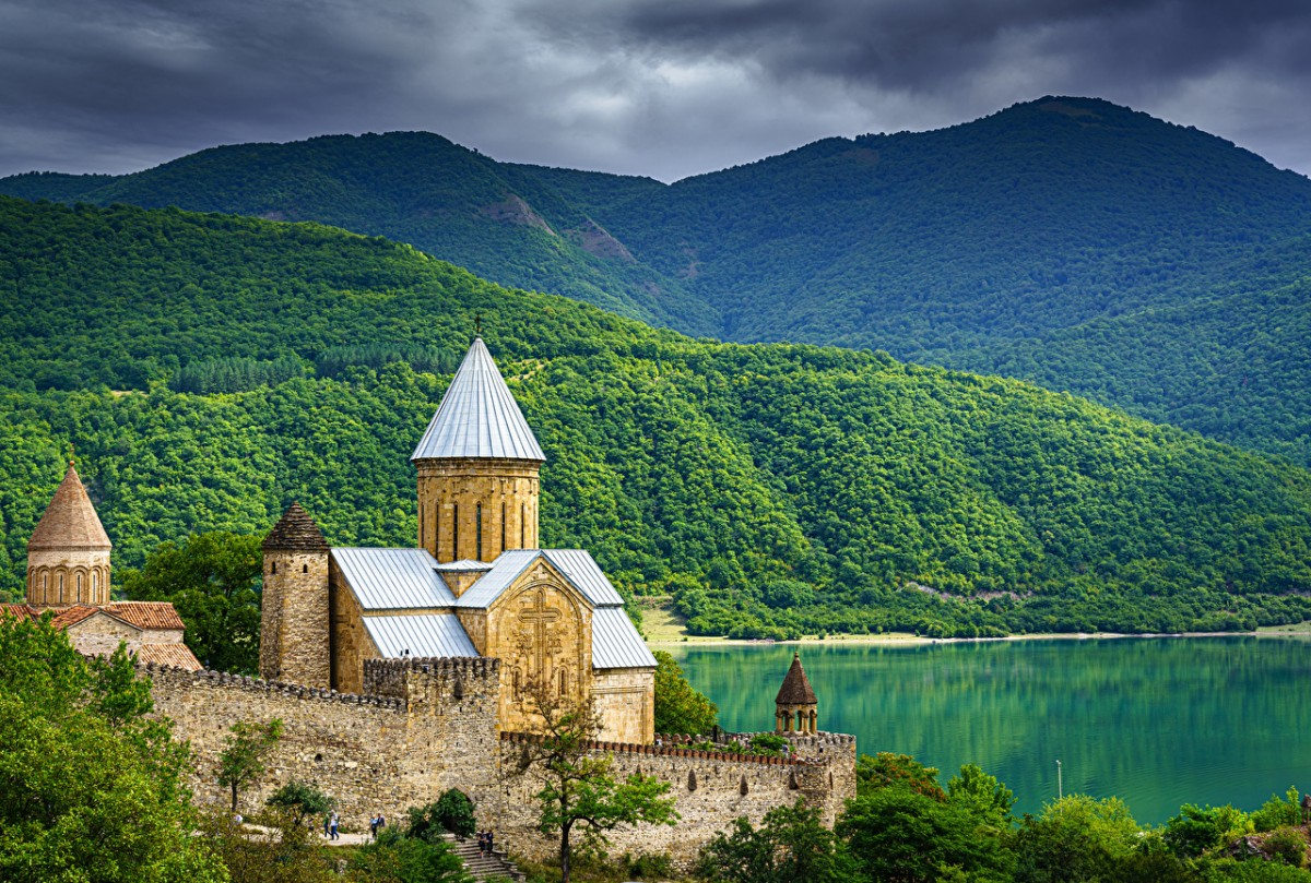 Jigsaw Puzzle Solve jigsaw puzzles online - Fortress in Georgia