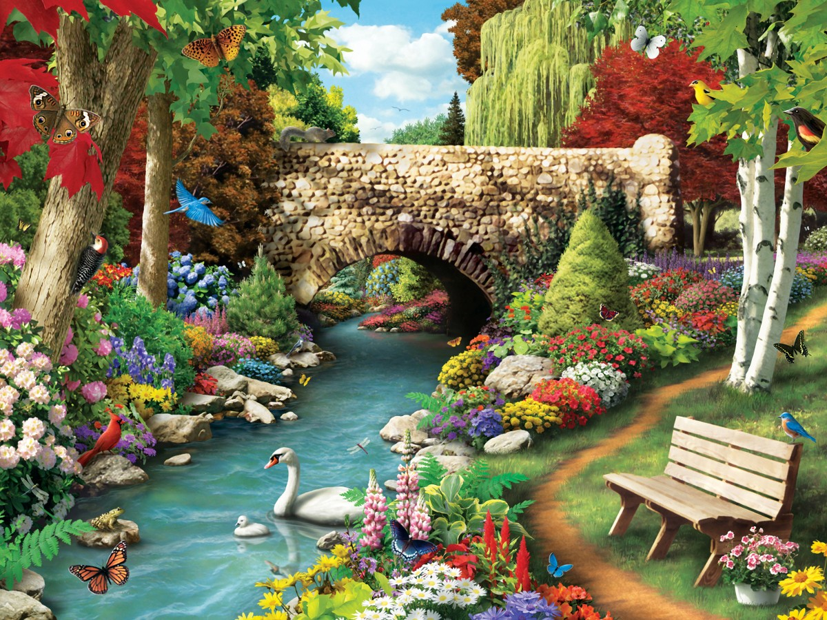 Jigsaw Puzzle Solve jigsaw puzzles online - Lebed