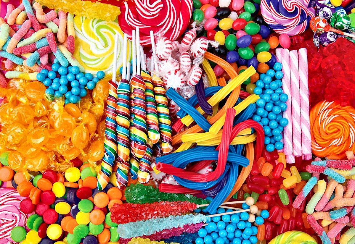 Jigsaw Puzzle Solve jigsaw puzzles online - Candy assorted