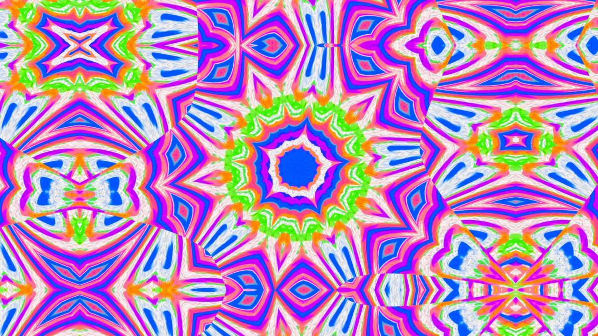 Jigsaw Puzzle Solve jigsaw puzzles online - Purple kaleidoscope
