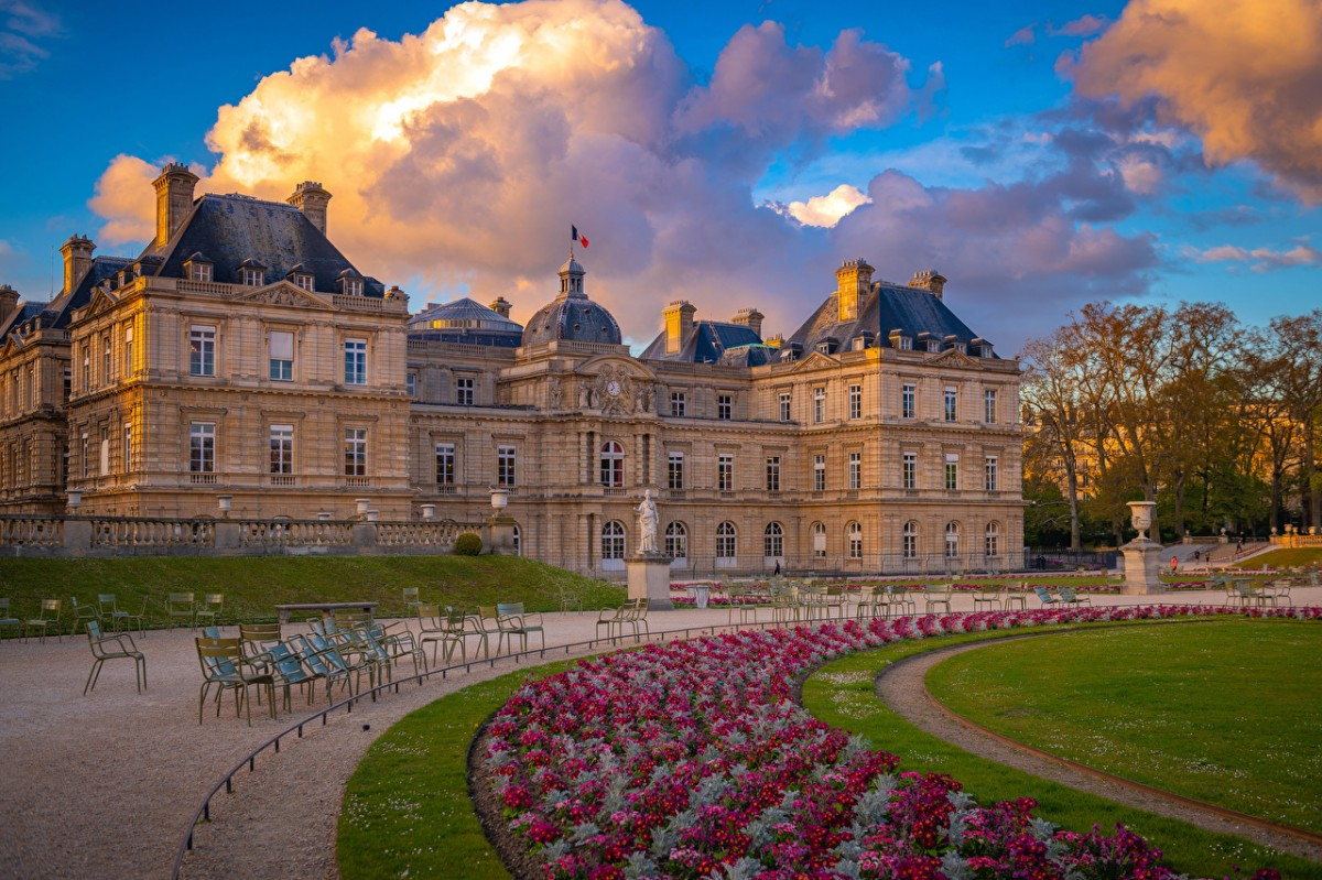 Jigsaw Puzzle Solve jigsaw puzzles online - Luxembourg gardens