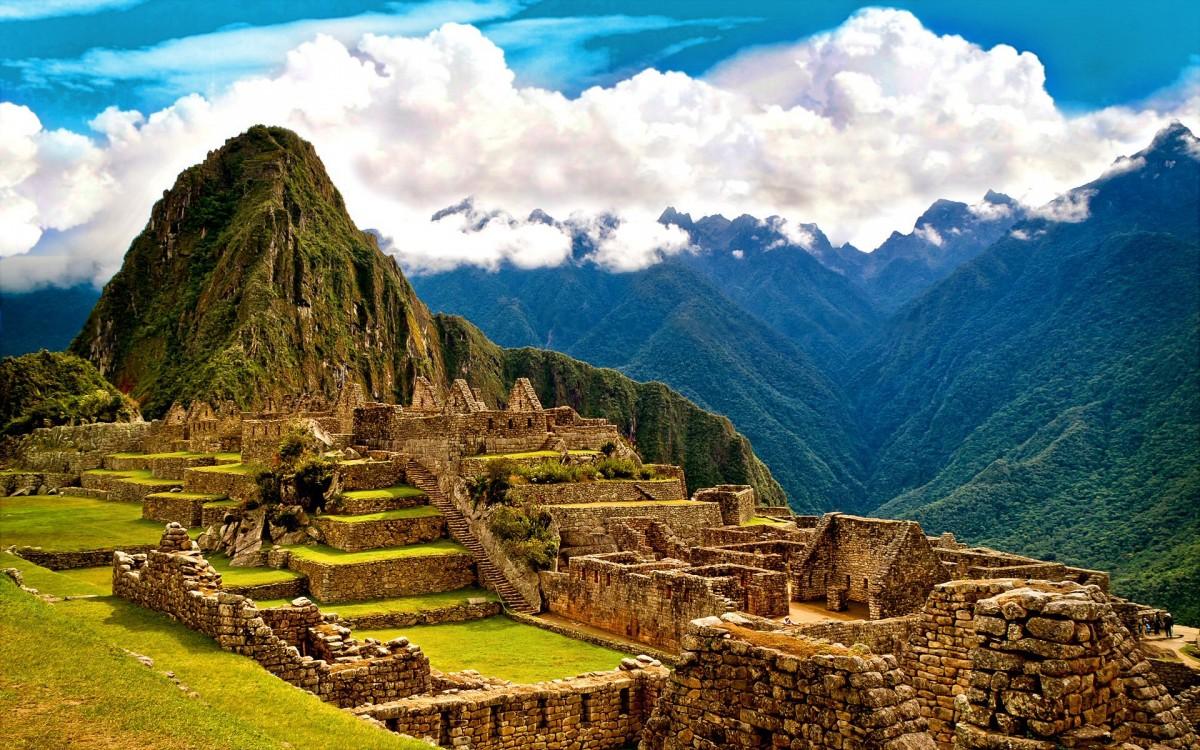 Jigsaw Puzzle Solve jigsaw puzzles online - Machu Picchu