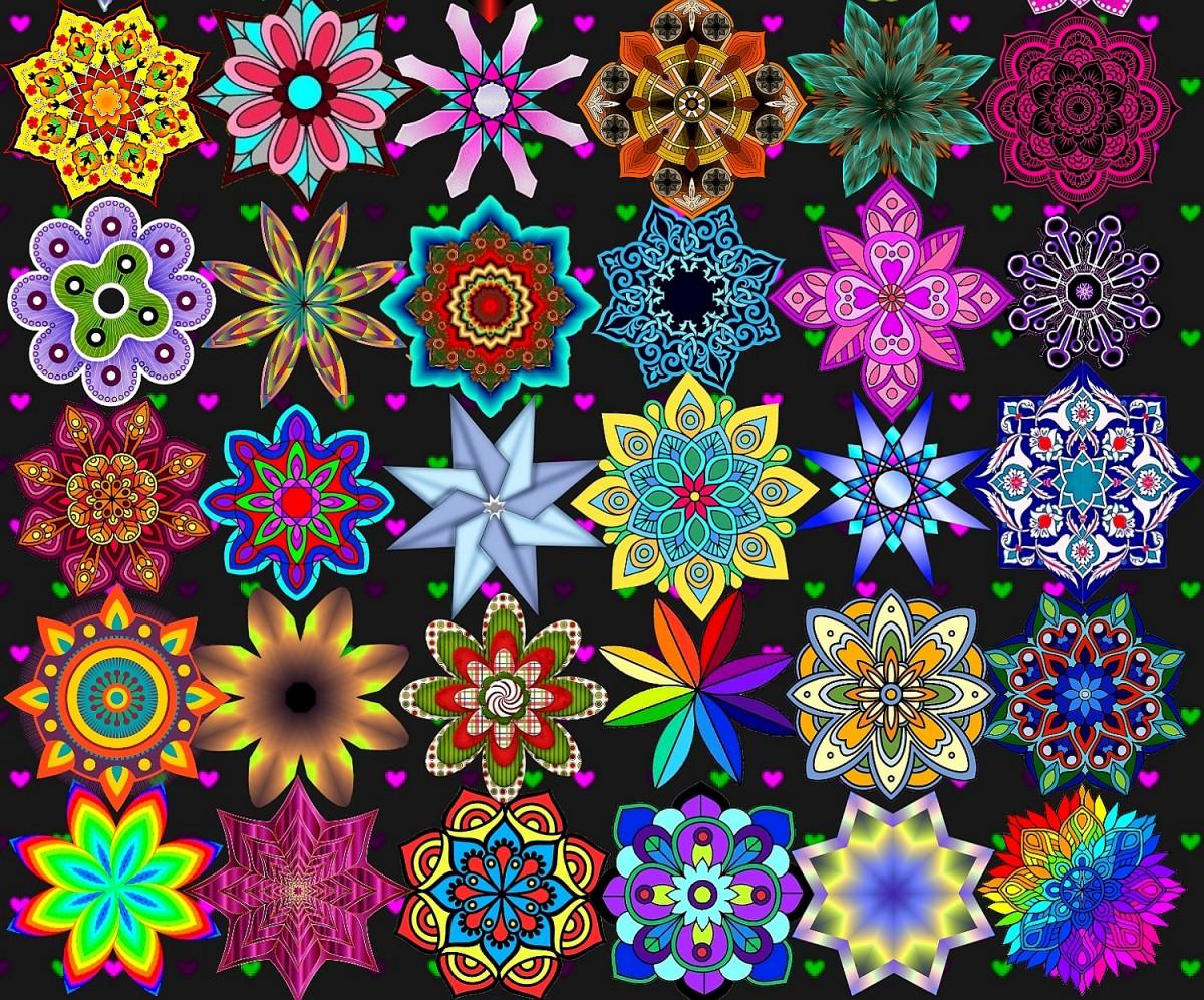 Jigsaw Puzzle Solve jigsaw puzzles online - Mandala