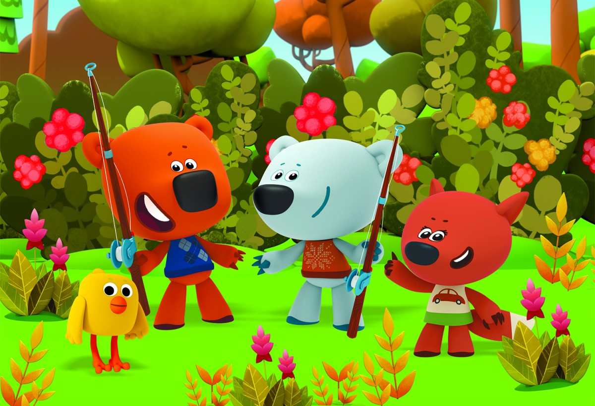 Jigsaw Puzzle Solve jigsaw puzzles online - Bears and Fox