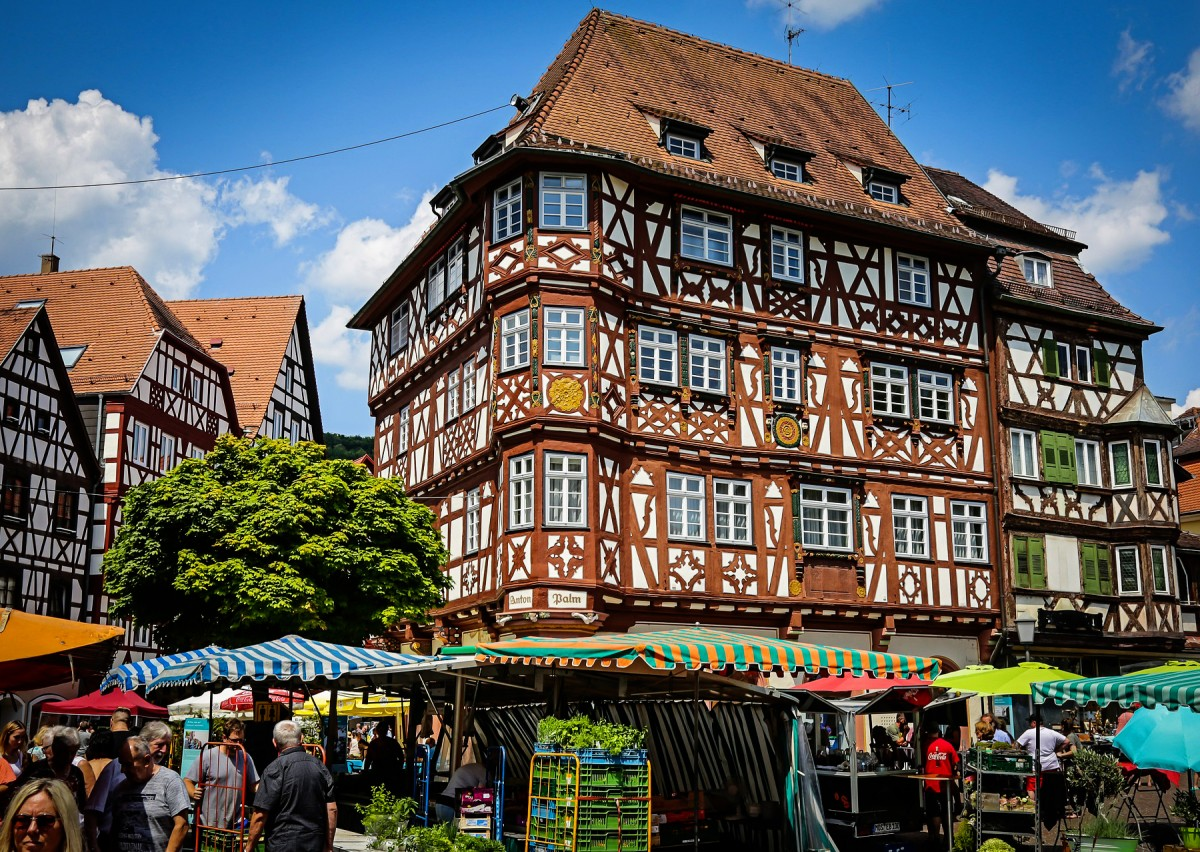 Jigsaw Puzzle Solve jigsaw puzzles online - Mosbach Germany