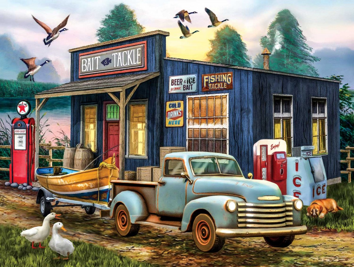 Jigsaw Puzzle Solve jigsaw puzzles online - For fishing