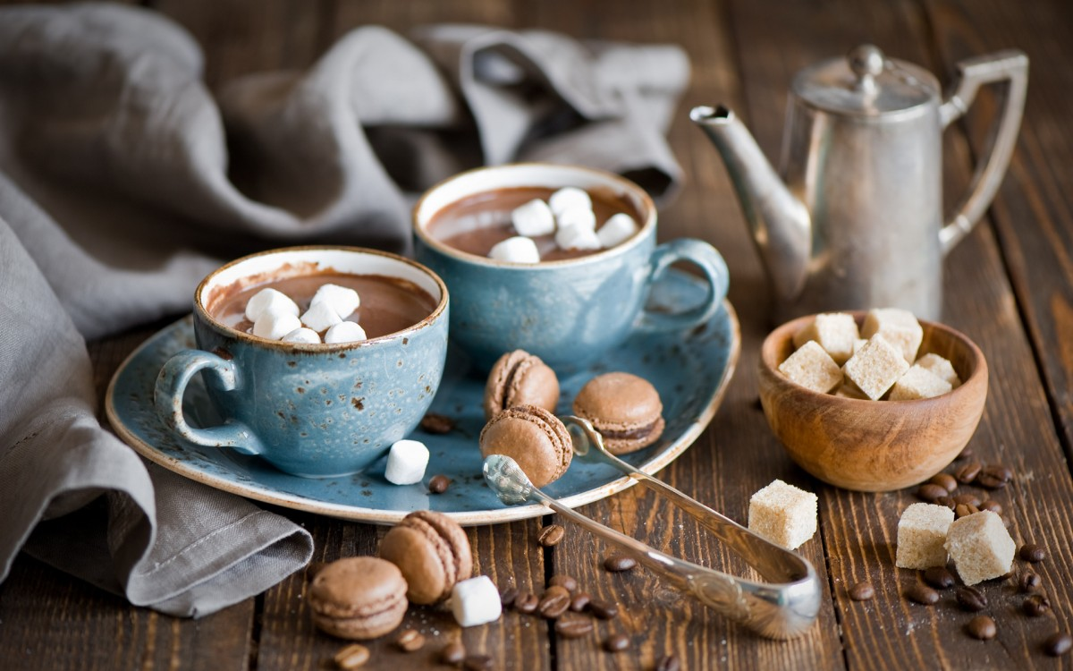 Jigsaw Puzzle Solve jigsaw puzzles online - Drink with marshmallows