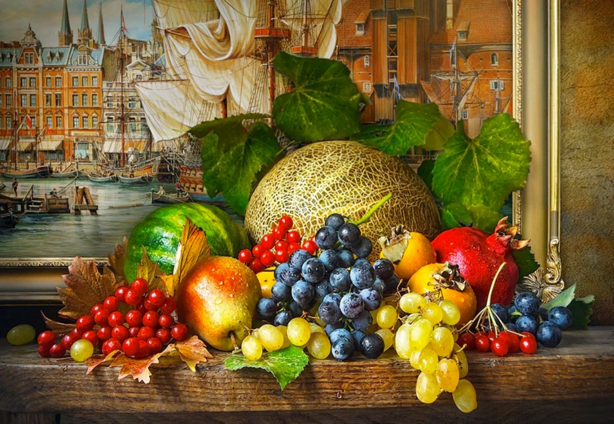 Jigsaw Puzzle Solve jigsaw puzzles online - Still life with picture
