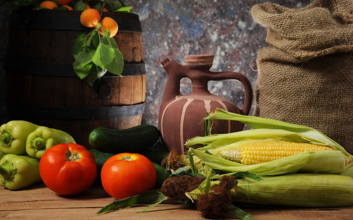 Jigsaw Puzzle Solve jigsaw puzzles online - Still life with corn