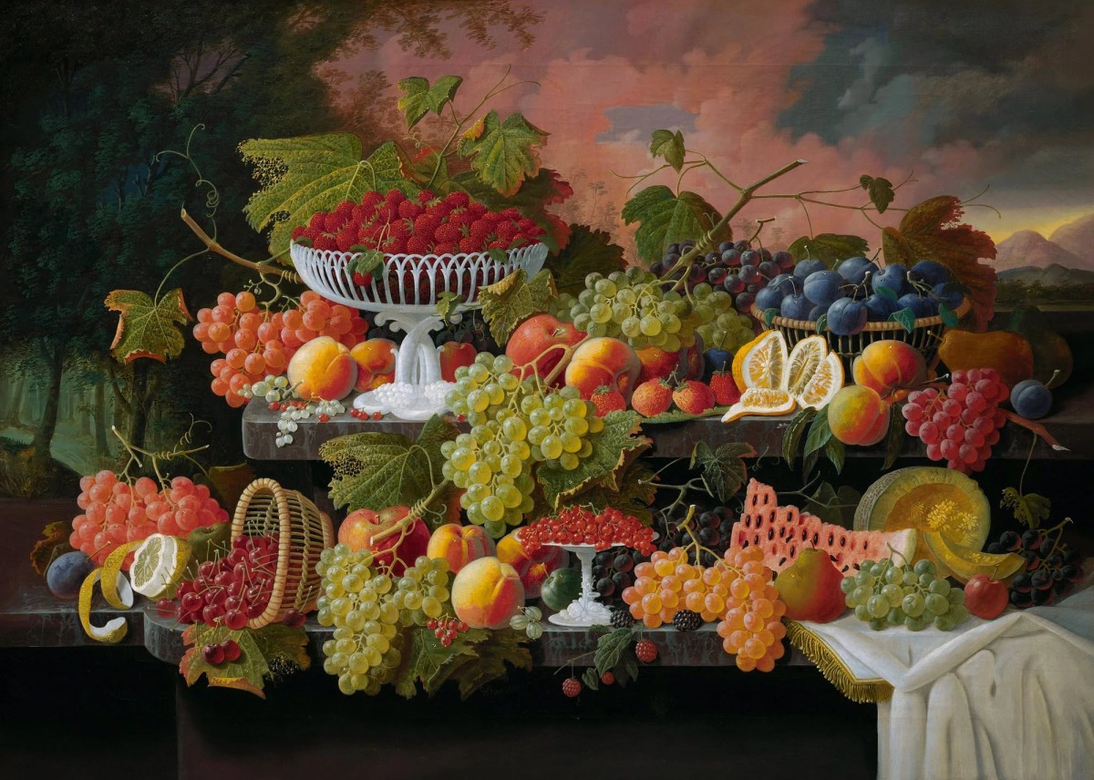 Jigsaw Puzzle Solve jigsaw puzzles online - Still life with landscape