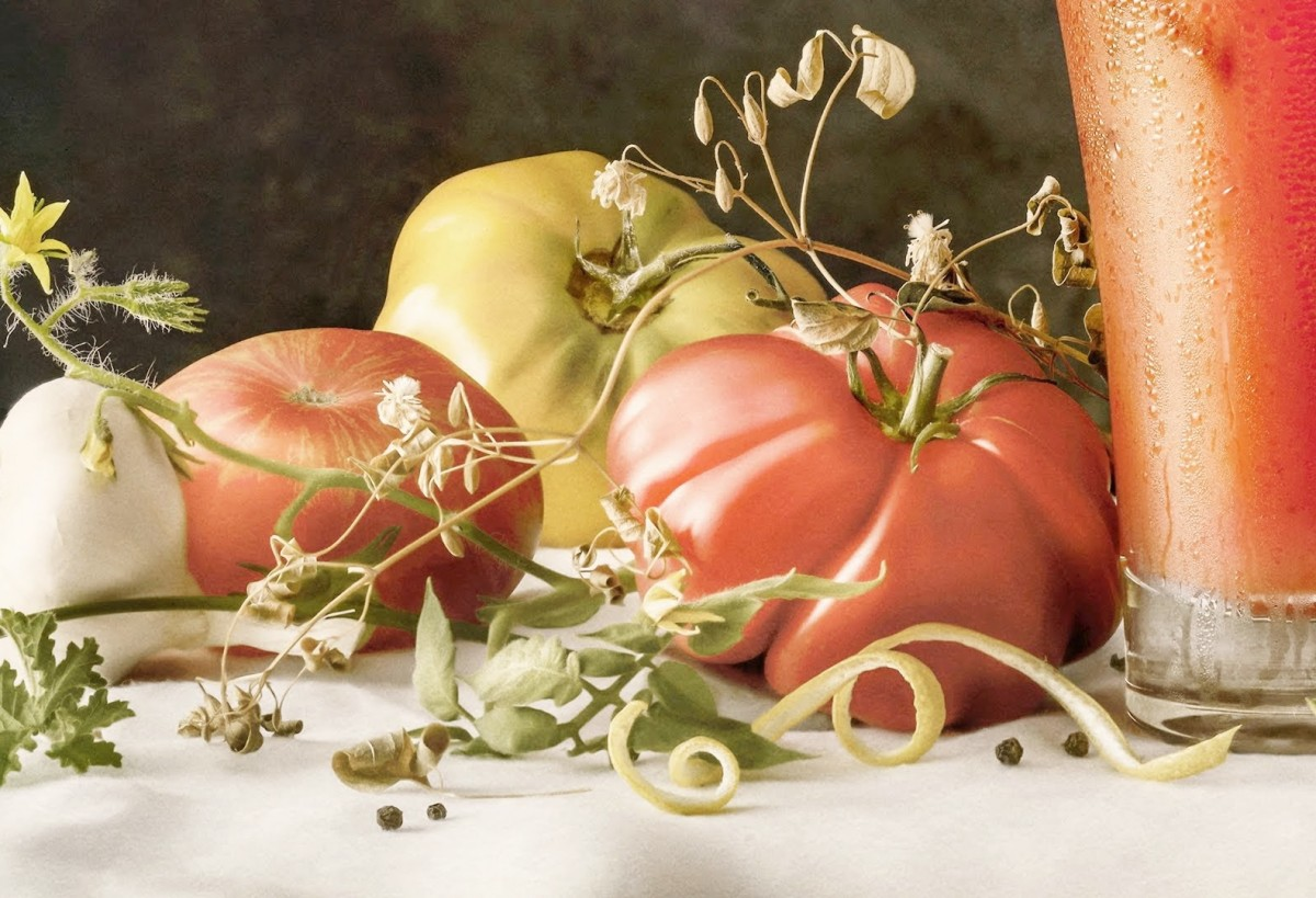 Jigsaw Puzzle Solve jigsaw puzzles online - Still life with tomatoes