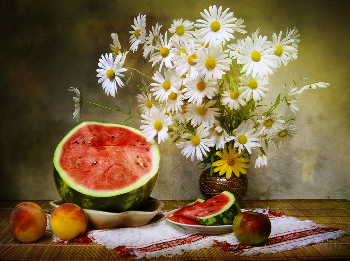 Jigsaw Puzzle Solve jigsaw puzzles online - Still life with daisies