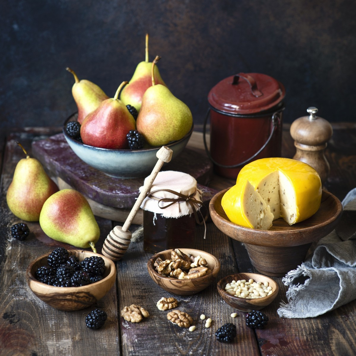 Jigsaw Puzzle Solve jigsaw puzzles online - Still life with cheese