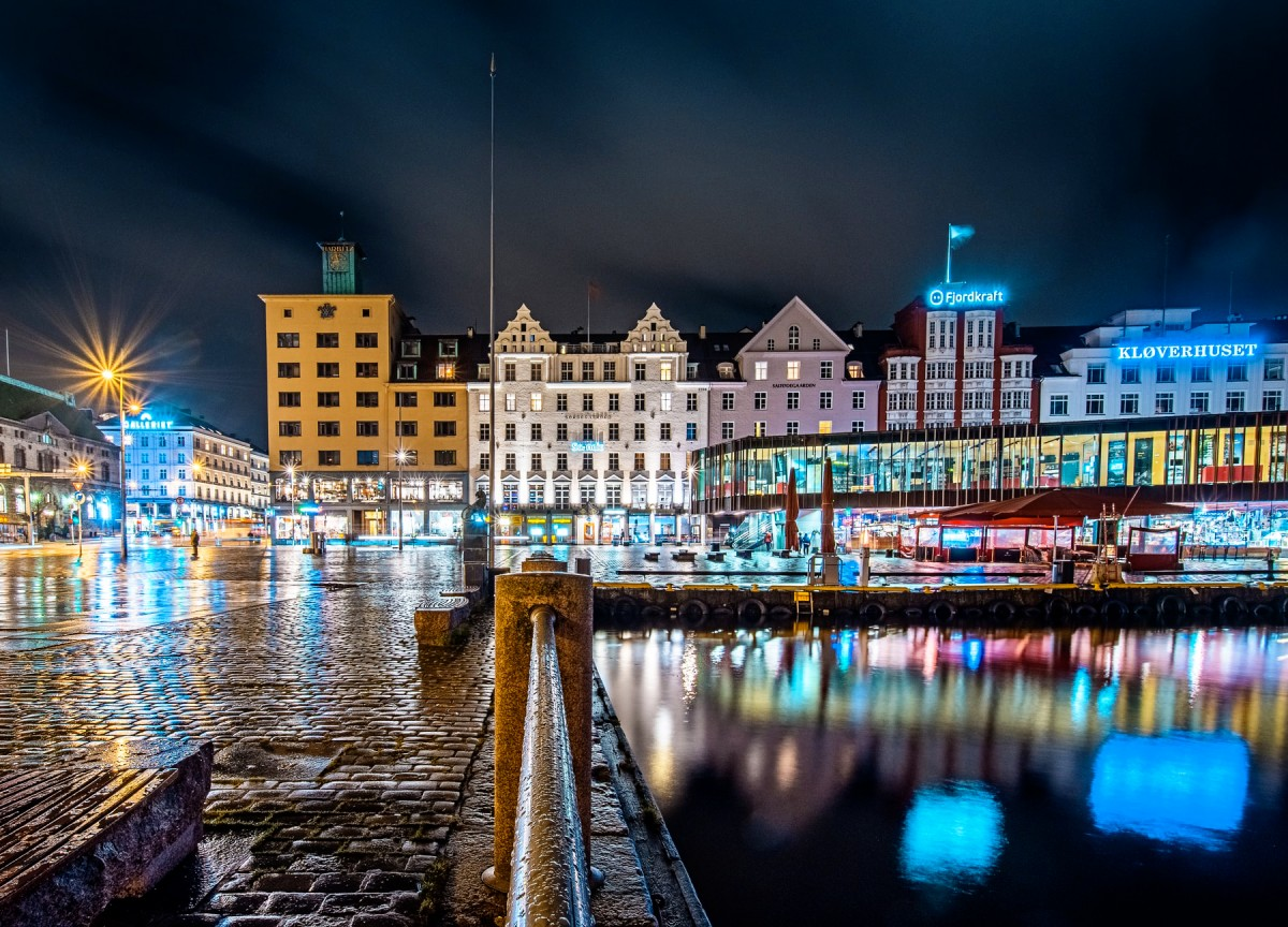 Jigsaw Puzzle Solve jigsaw puzzles online - Night Bergen