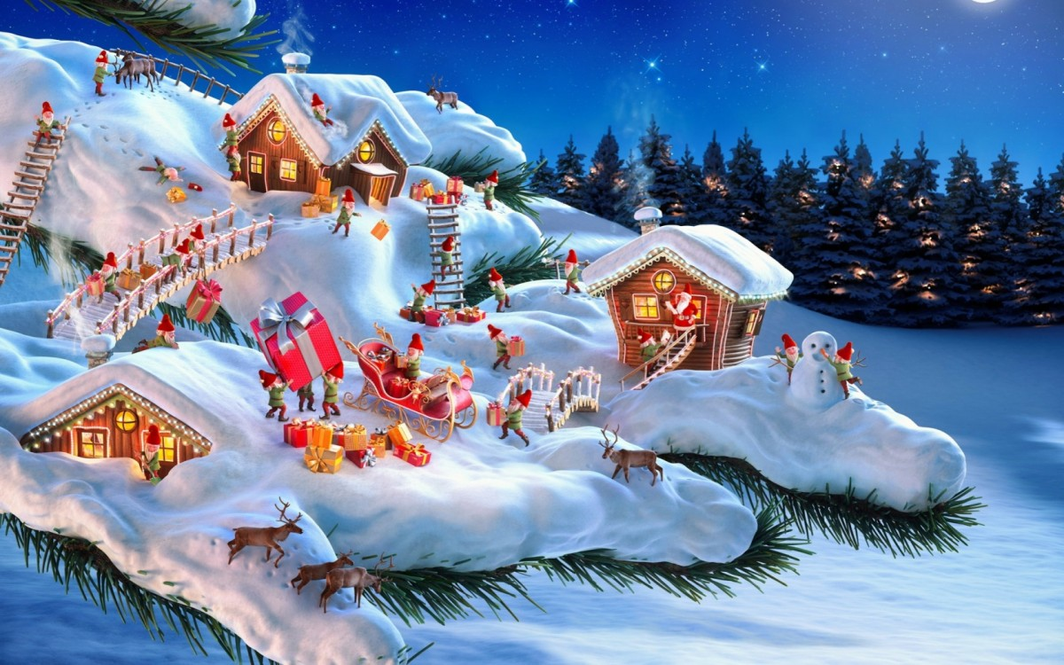 Jigsaw Puzzle Solve jigsaw puzzles online - Christmas gnomes