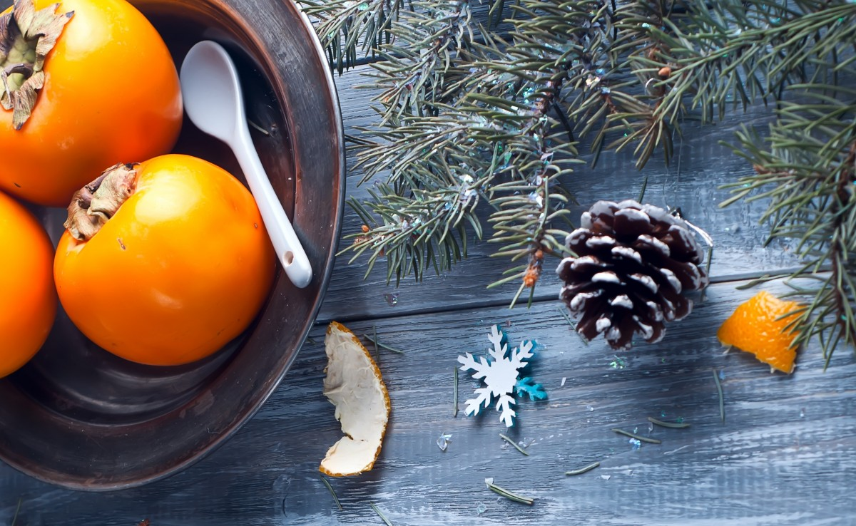 Jigsaw Puzzle Solve jigsaw puzzles online - New Year's persimmon
