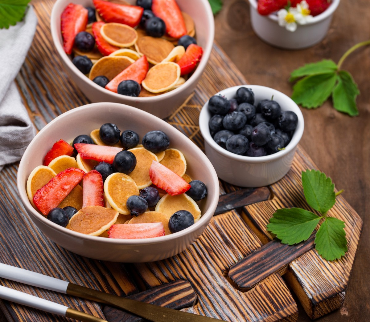Jigsaw Puzzle Solve jigsaw puzzles online - Pancakes and berries