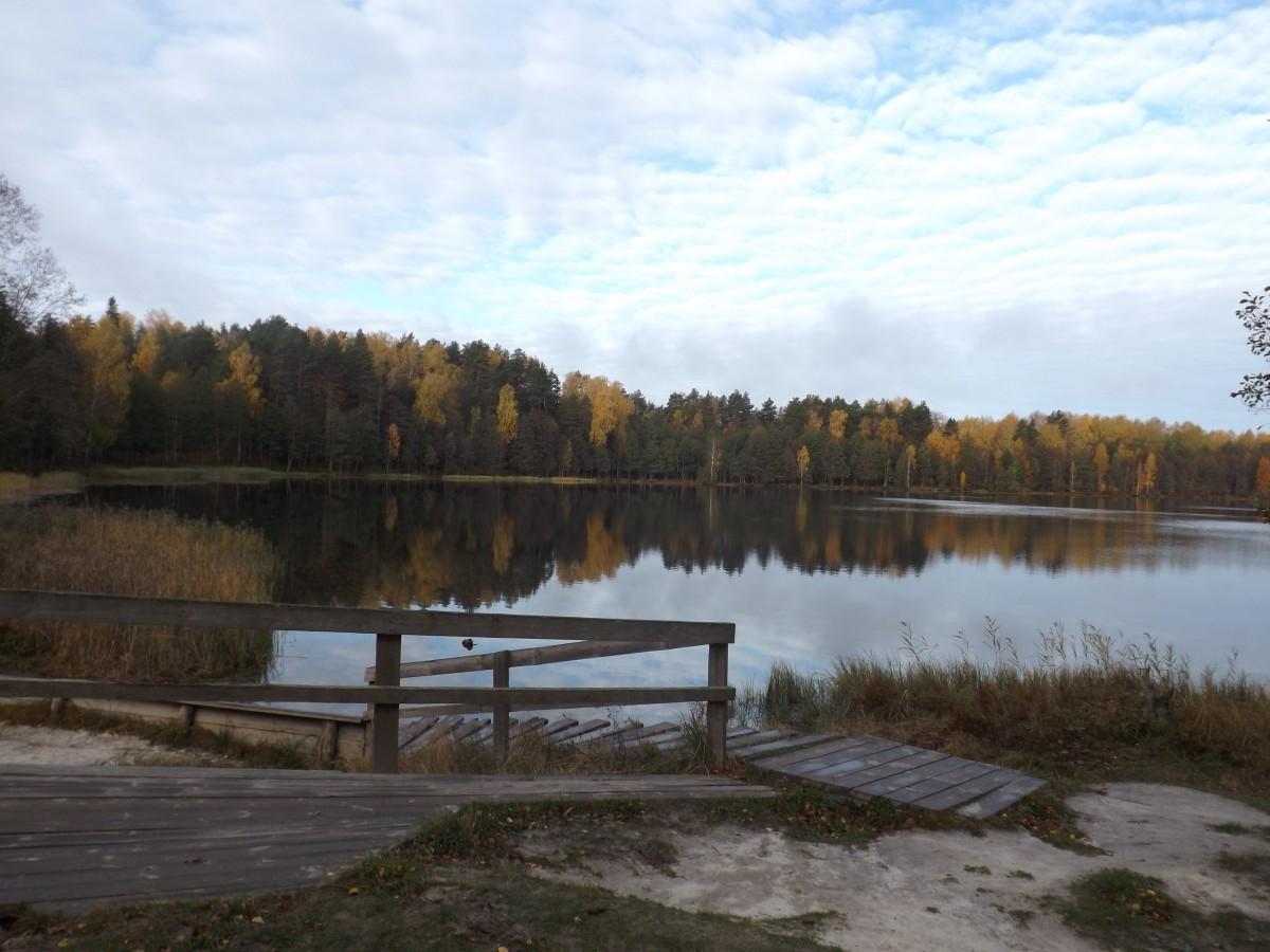 Jigsaw Puzzle Solve jigsaw puzzles online - Autumn lake