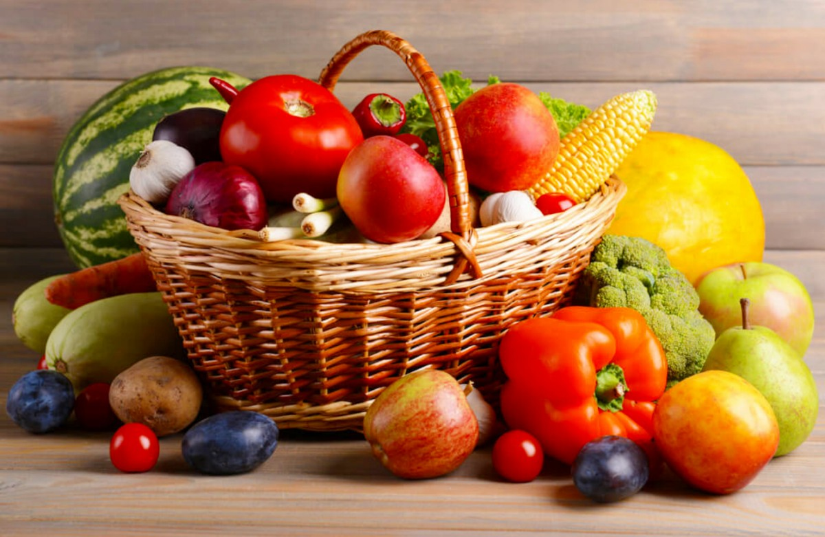 Jigsaw Puzzle Solve jigsaw puzzles online - Vegetables in basket