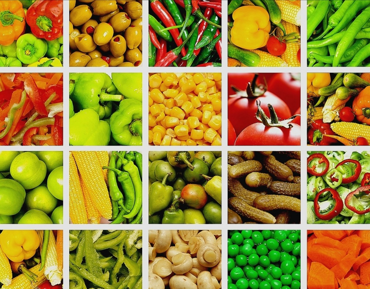Jigsaw Puzzle Solve jigsaw puzzles online - Vegetable collage