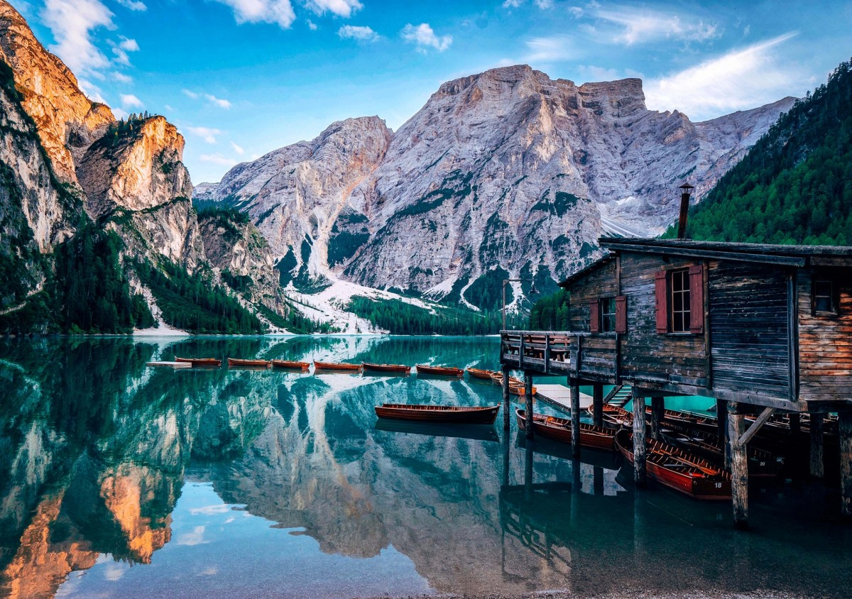Jigsaw Puzzle Solve jigsaw puzzles online - Lake Prags