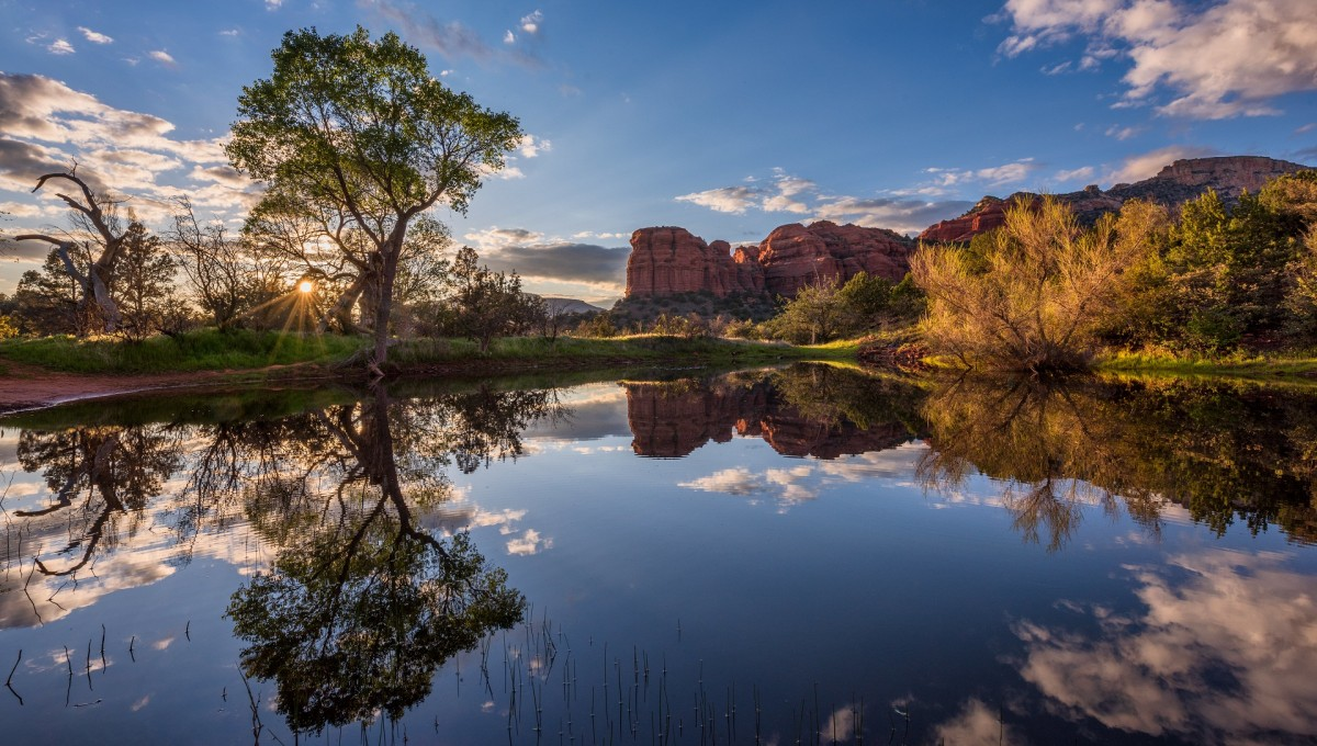 Jigsaw Puzzle Solve jigsaw puzzles online - Lake in Arizona