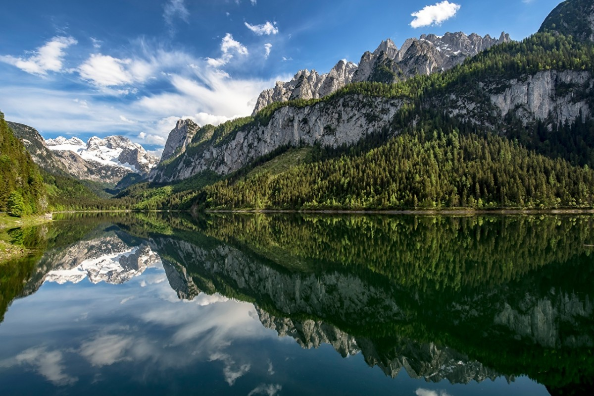 Jigsaw Puzzle Solve jigsaw puzzles online - The lake in Austria