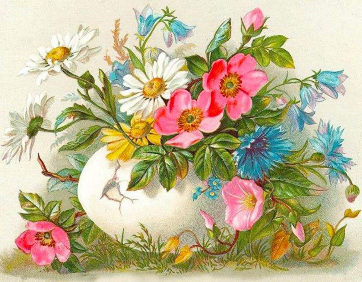 Jigsaw Puzzle Solve jigsaw puzzles online - Easter card