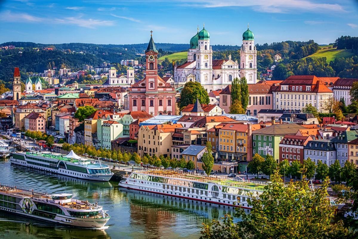 Jigsaw Puzzle Solve jigsaw puzzles online - Passau Germany