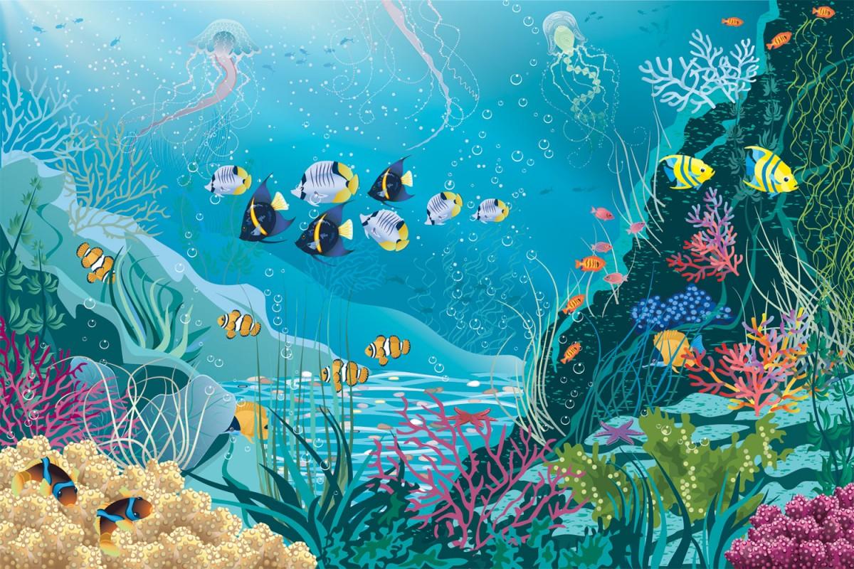 Jigsaw Puzzle Solve jigsaw puzzles online - Underwater world