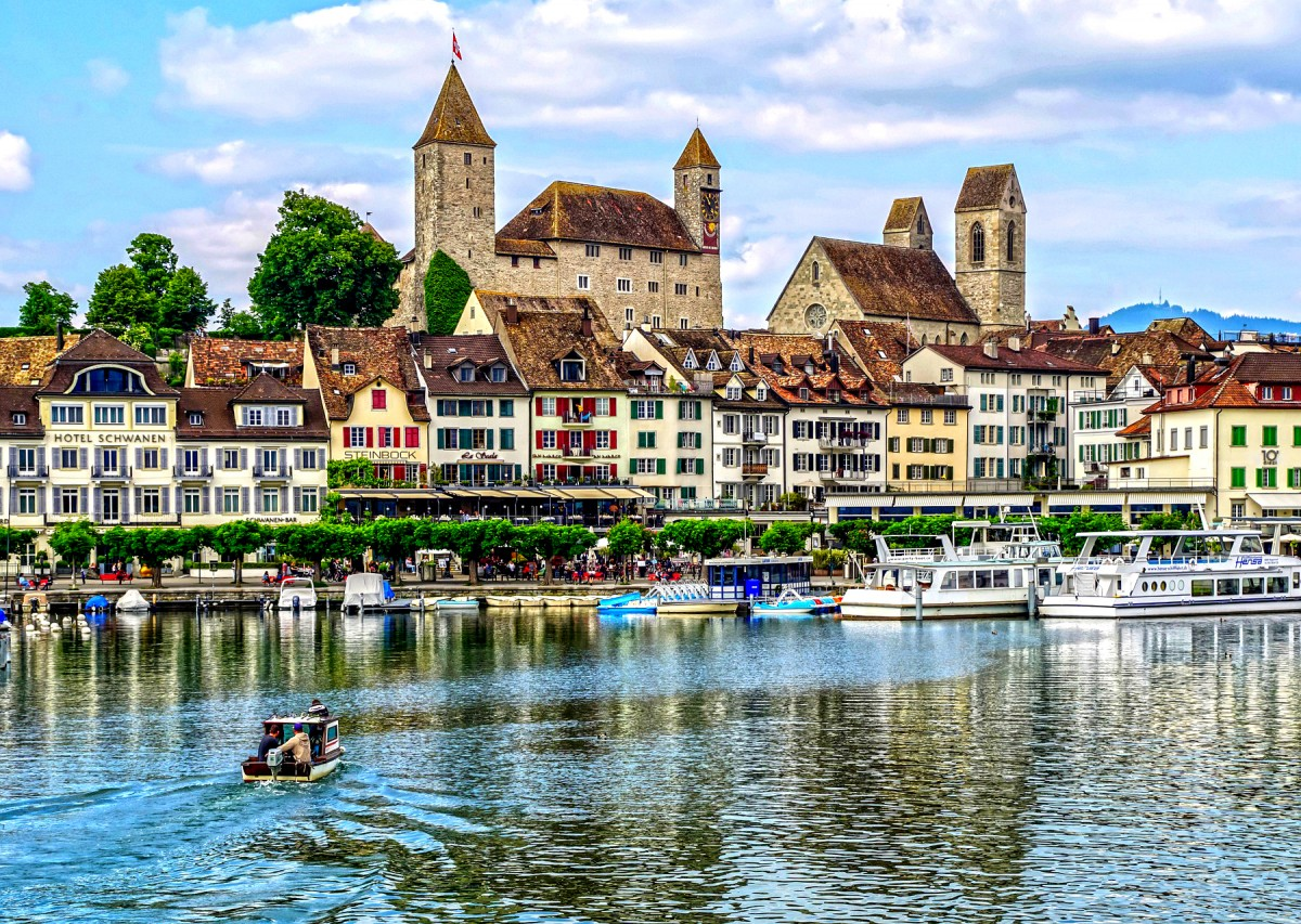 Jigsaw Puzzle Solve jigsaw puzzles online - Rapperswil