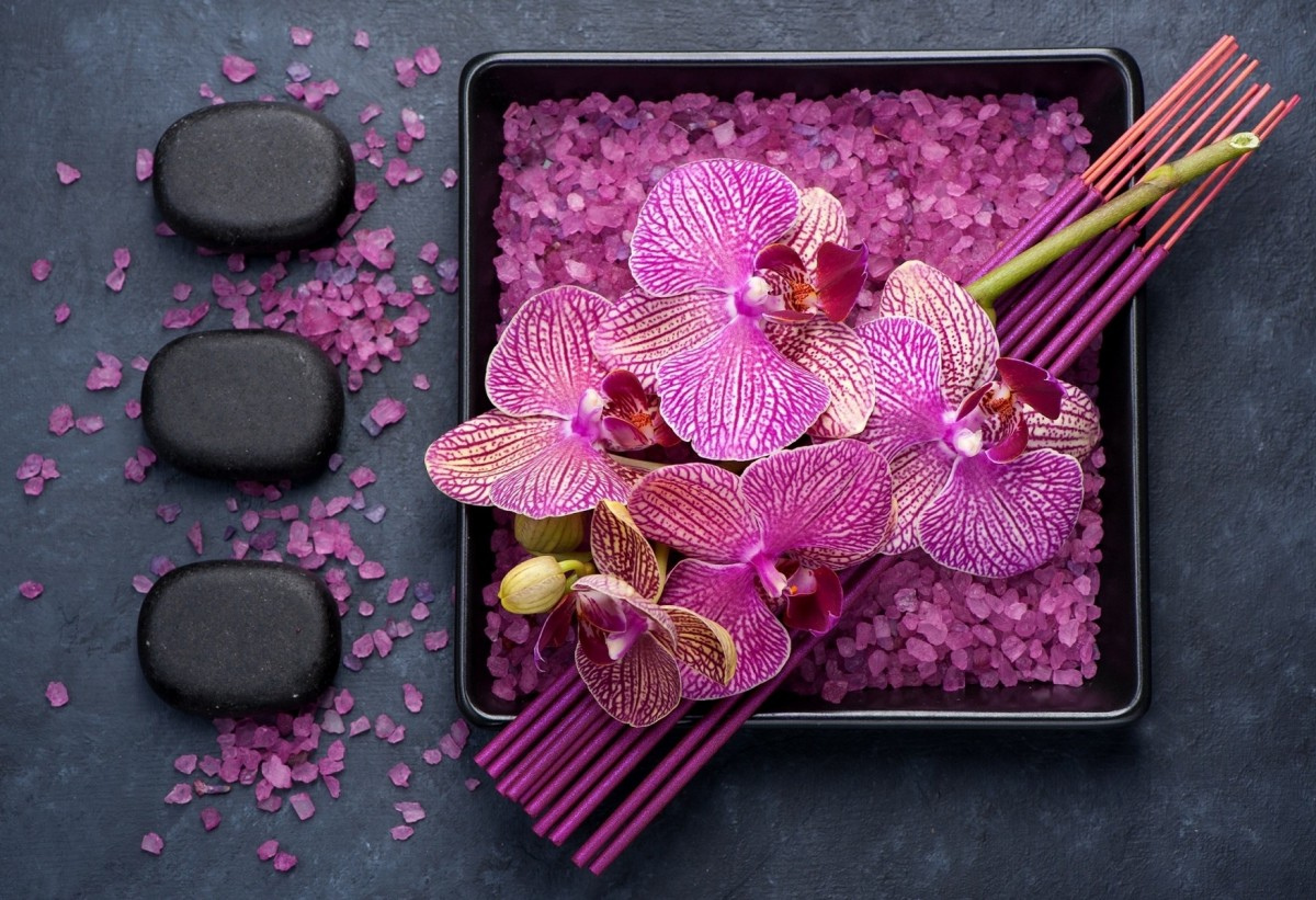 Jigsaw Puzzle Solve jigsaw puzzles online - Relax with orchids