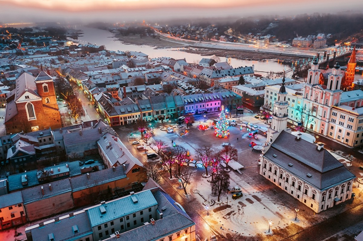 Jigsaw Puzzle Solve jigsaw puzzles online - Christmas in Kaunas