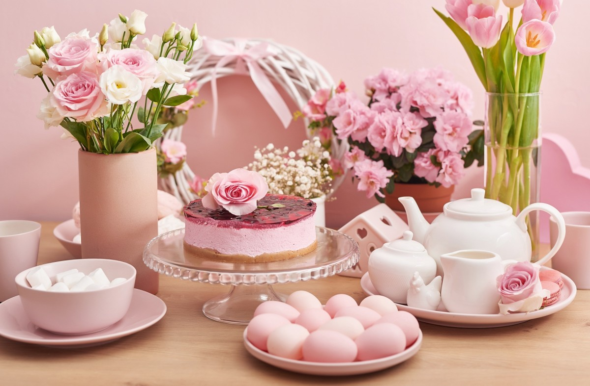 Jigsaw Puzzle Solve jigsaw puzzles online - Pink Easter