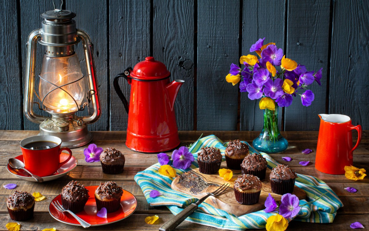 Jigsaw Puzzle Solve jigsaw puzzles online - Chocolate cupcakes