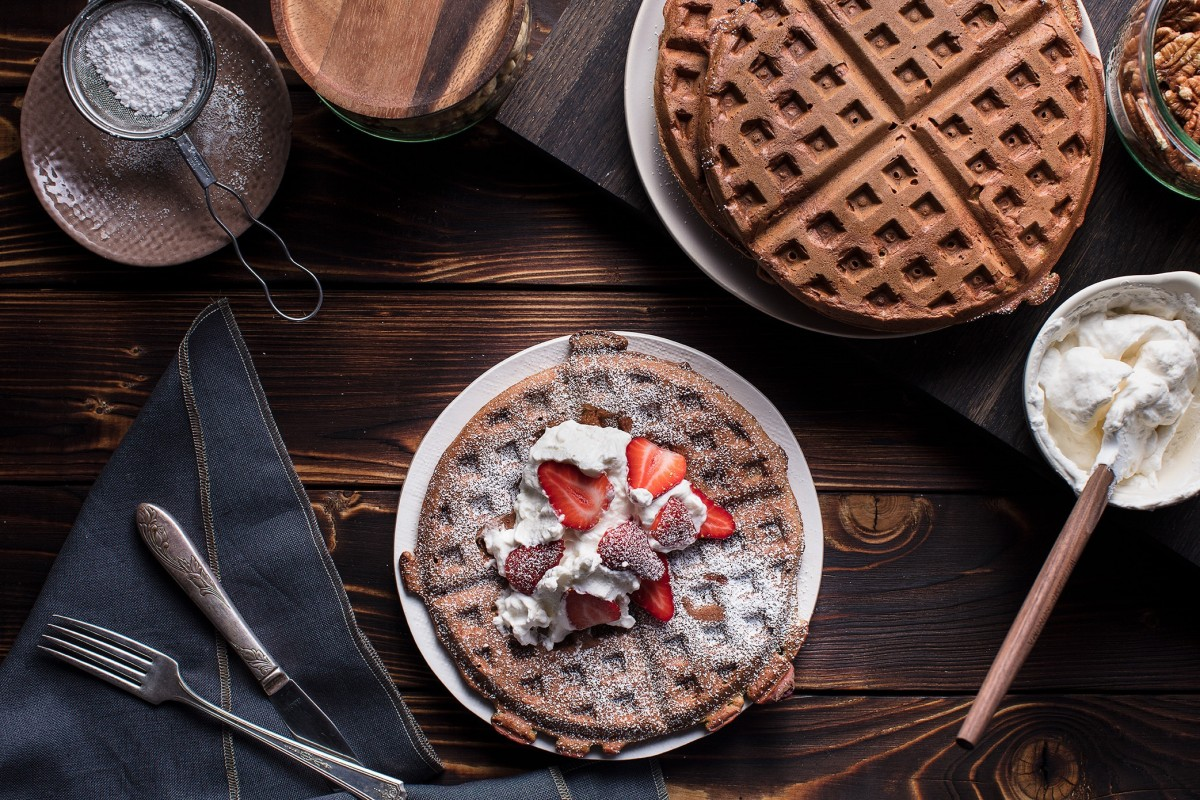 Jigsaw Puzzle Solve jigsaw puzzles online - Chocolate waffles