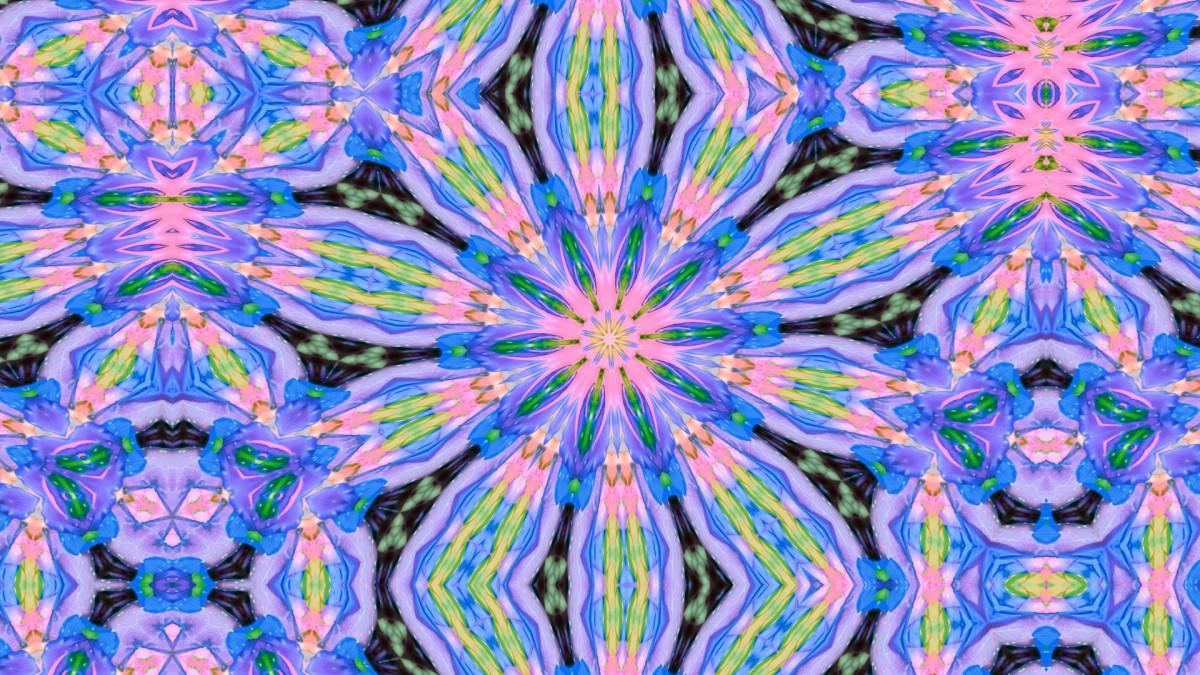 Jigsaw Puzzle Solve jigsaw puzzles online - Blue flower