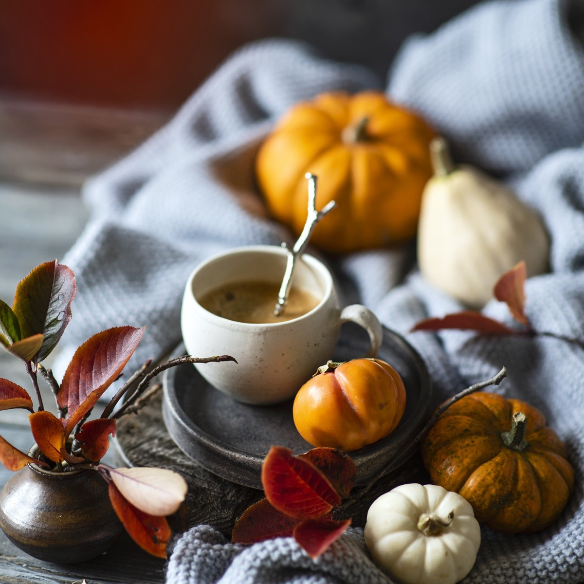 Jigsaw Puzzle Solve jigsaw puzzles online - Pumpkin and coffee