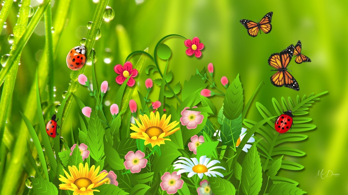 Jigsaw Puzzle Solve jigsaw puzzles online - Flowers and butterflies