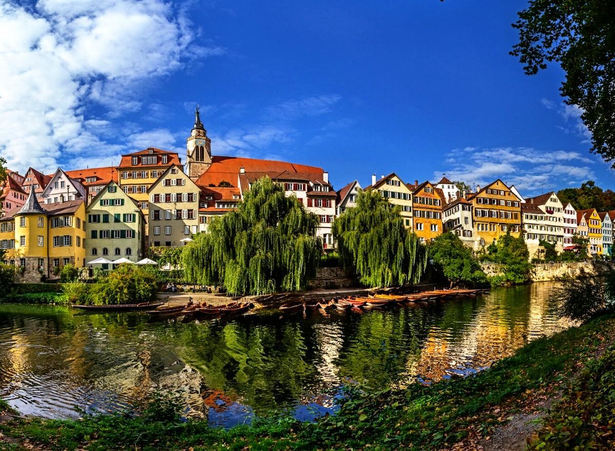 Jigsaw Puzzle Solve jigsaw puzzles online - Tubingen Germany