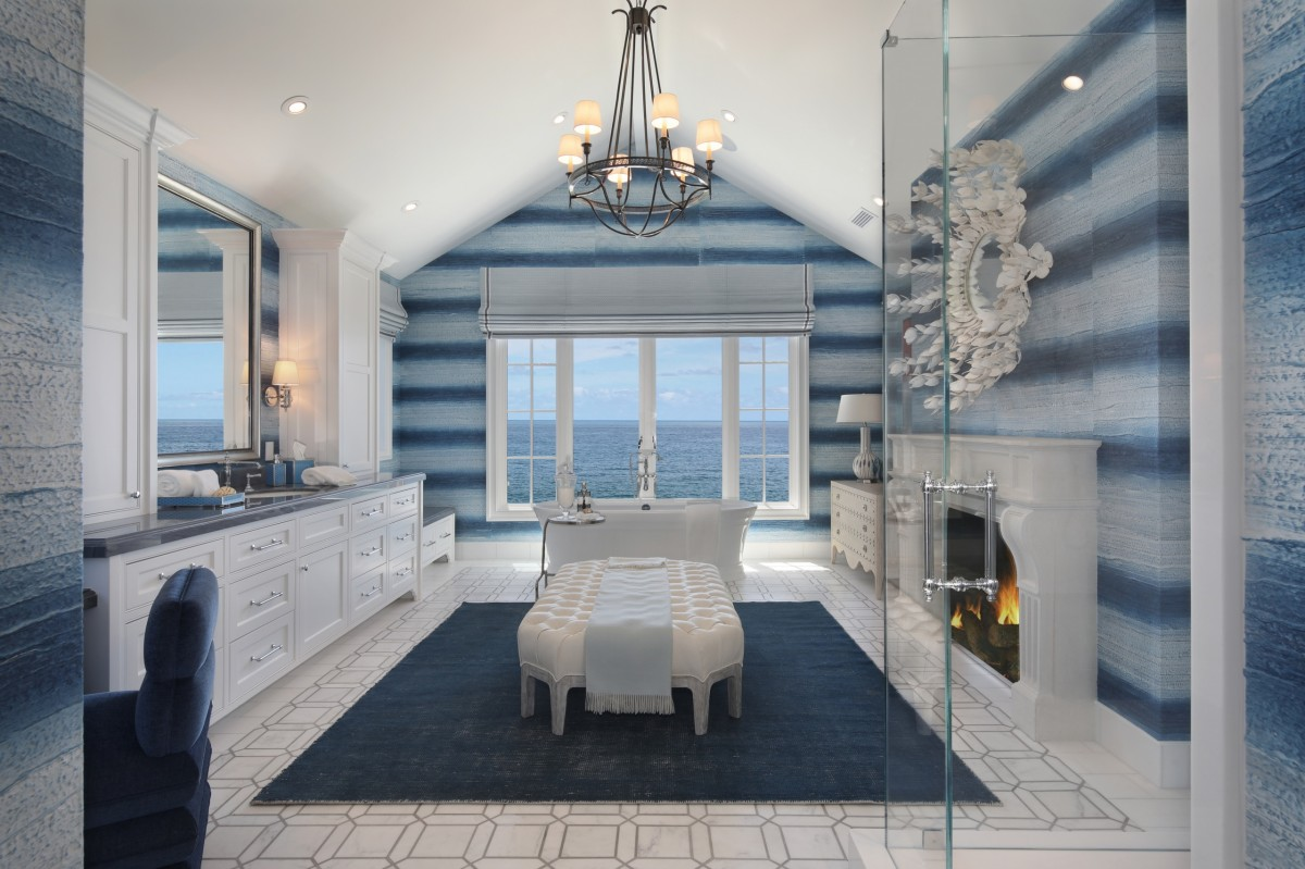 Jigsaw Puzzle Solve jigsaw puzzles online - Bathroom with views of the sea