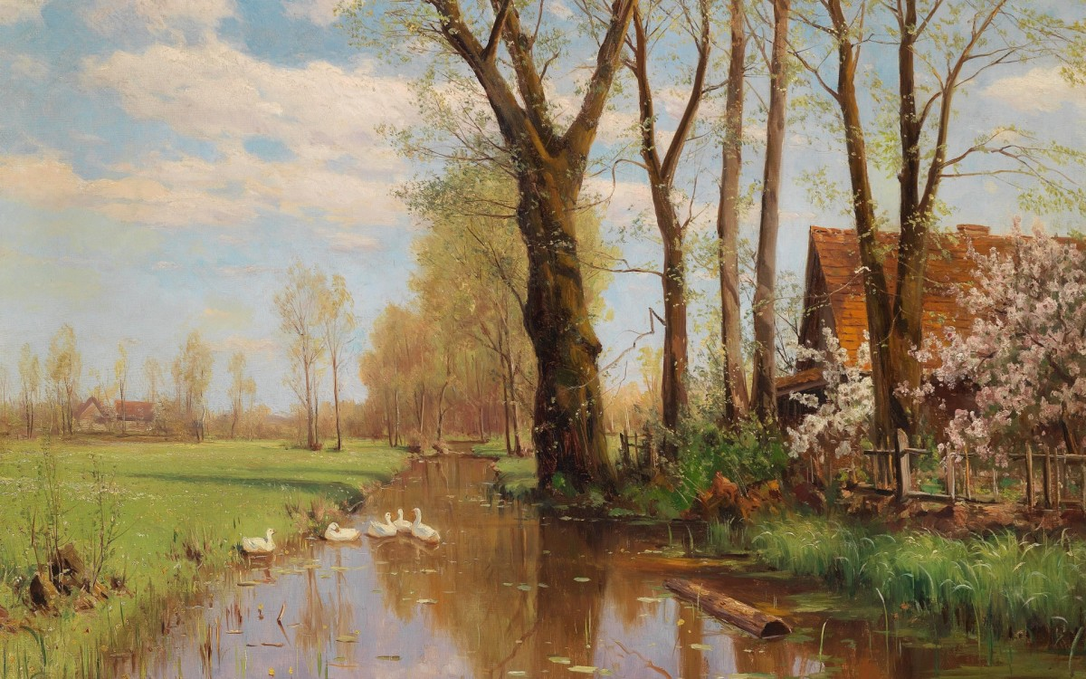 Jigsaw Puzzle Solve jigsaw puzzles online - Spring morning