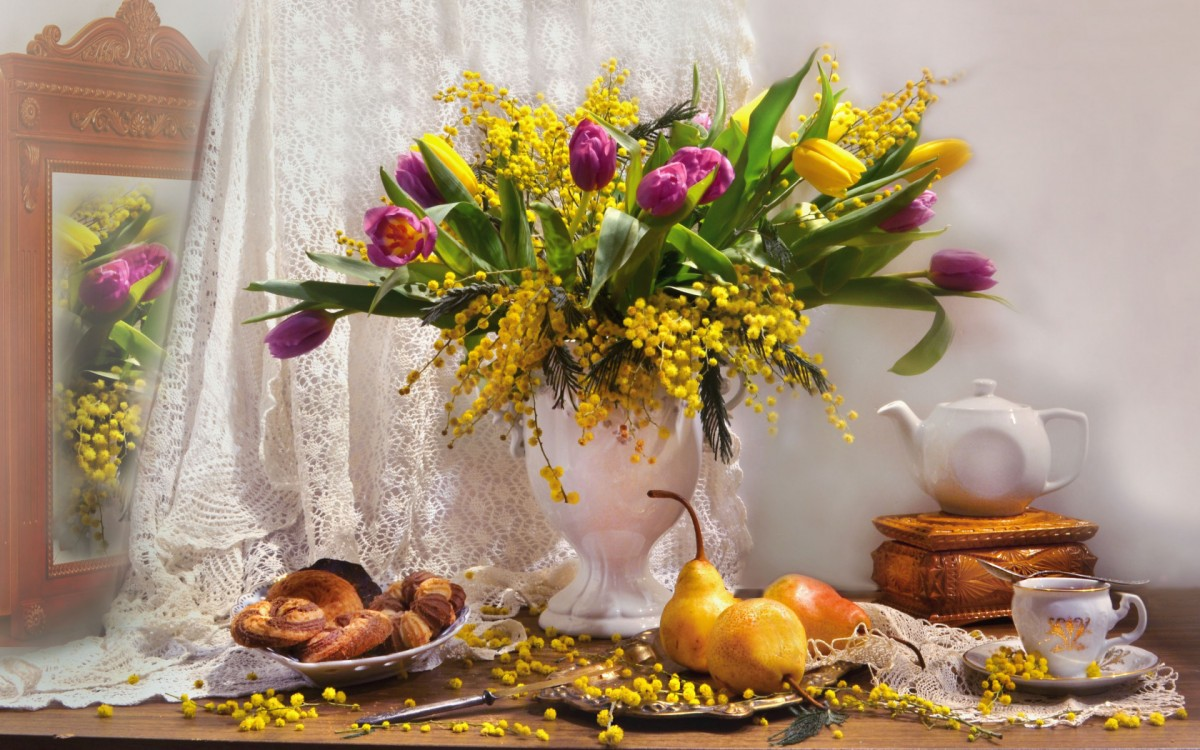 Jigsaw Puzzle Solve jigsaw puzzles online - Spring still life