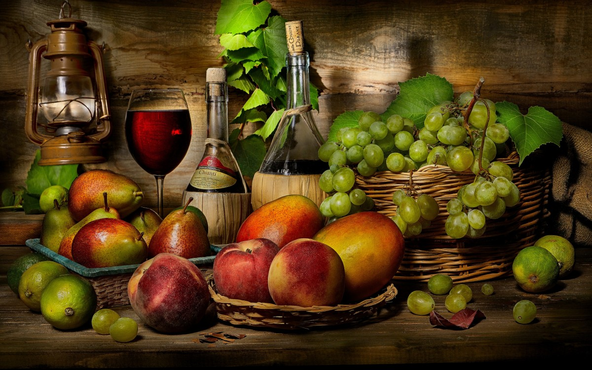 Jigsaw Puzzle Solve jigsaw puzzles online - Wine and fruit