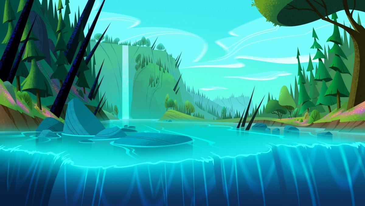 Jigsaw Puzzle Waterfall