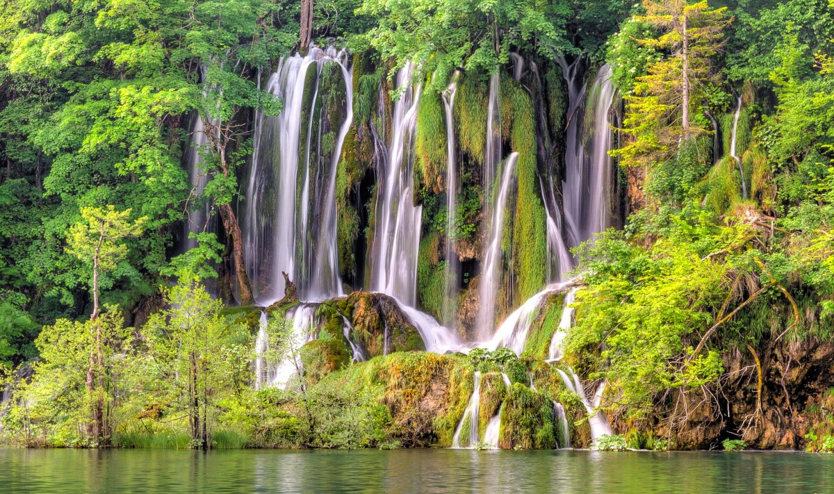 Jigsaw Puzzle Solve jigsaw puzzles online - Waterfalls Of Croatia